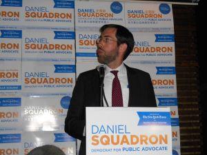 Daniel Squadron tonight.