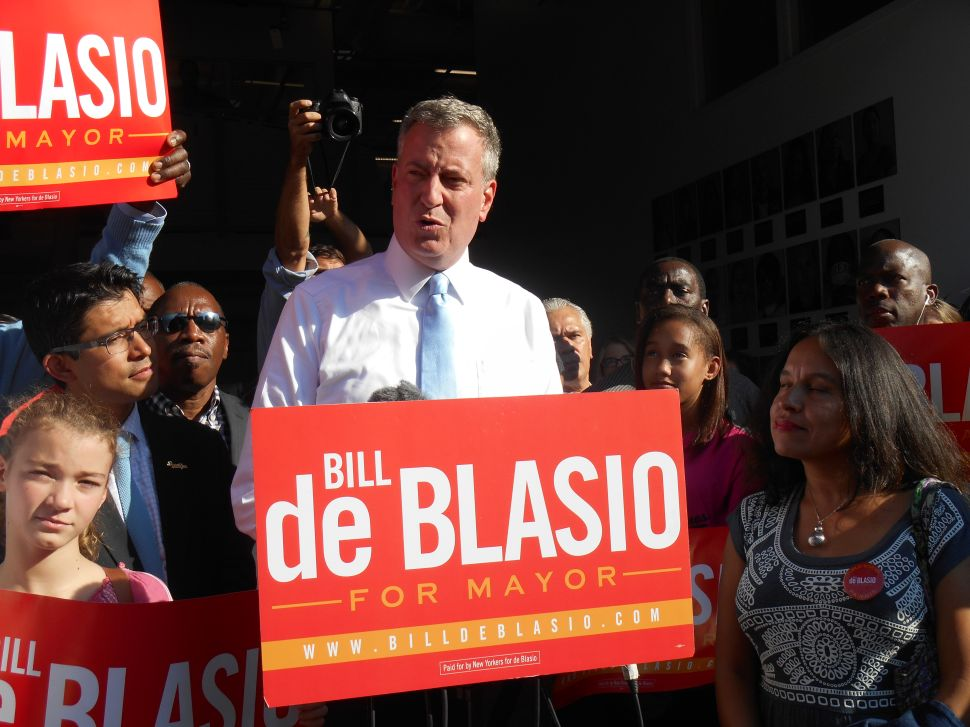 Opponents Decry De Blasio's Government Effort to Halt Pro-Lhota PAC