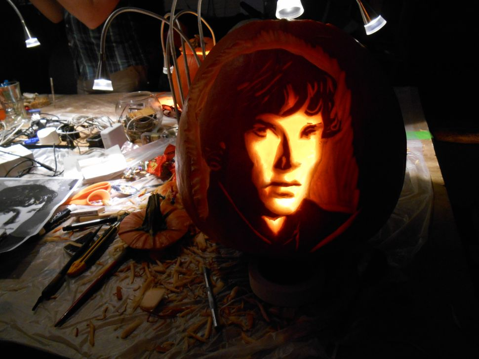 NYC Resistor Elevates the Pumpkin Carving Game
