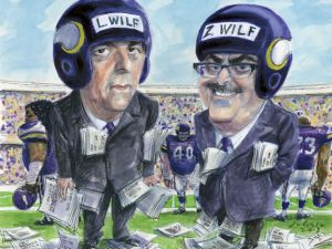 The New Jersey-based Wilf family also owns the NFL's Minnesota Vikings. (Illustration by Victor Juhasz.)