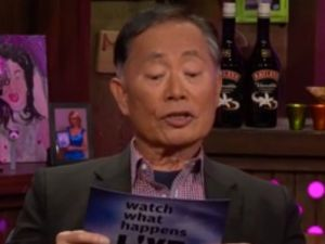 George Takai on Watch What Happens Live. (Bravo)