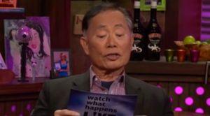 George Takai on Watch What Happens Live. (Bravo)