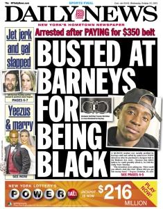 <em>Daily News</em> Slams <em>The Times</em> for Delay in Covering Barneys Allegations