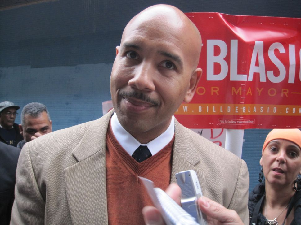Ruben Diaz Bronx Cheers Bill de Blasio in State of Borough Speech