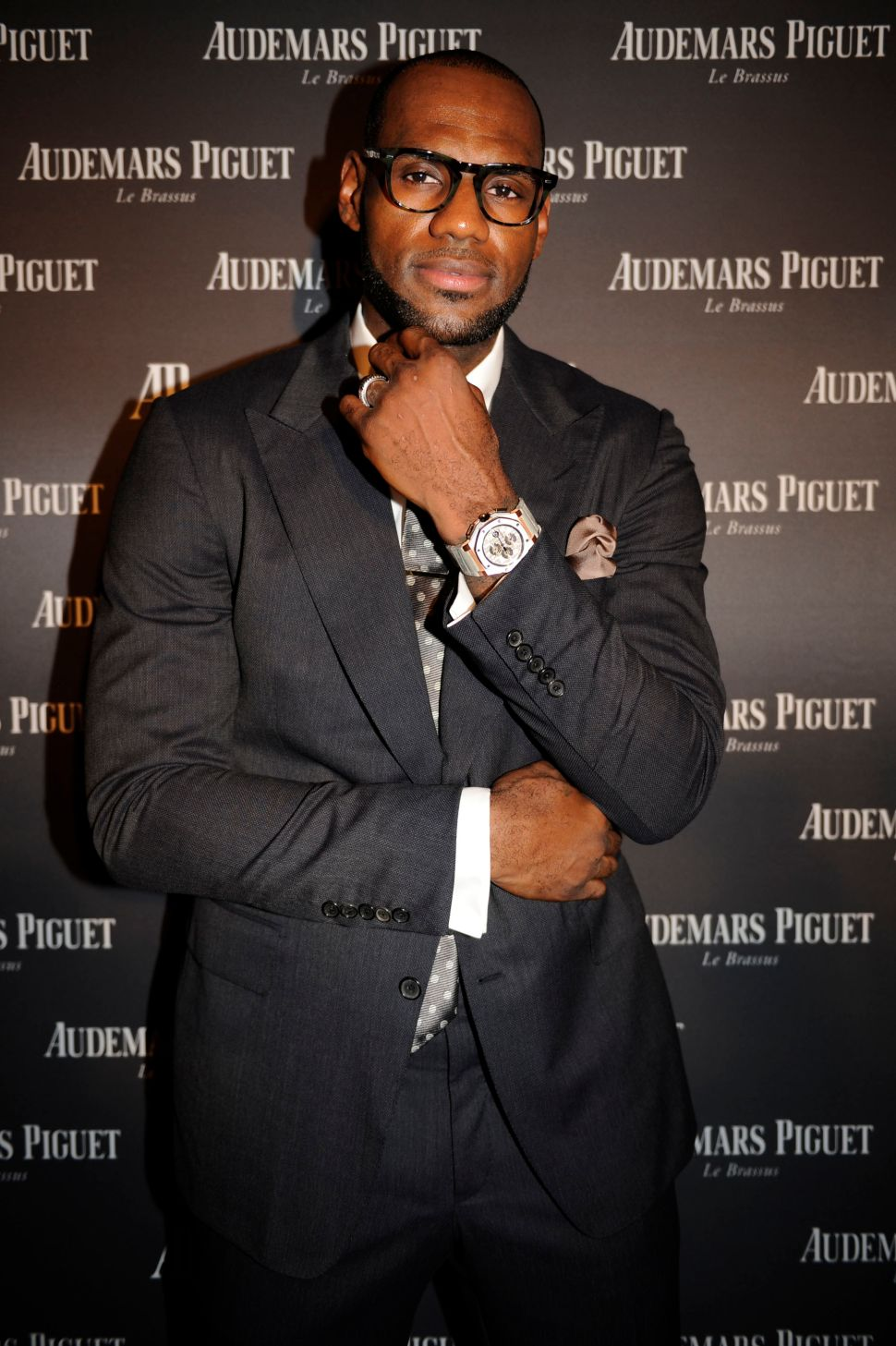 Time Is Money: LeBron James Reveals $51,500 Watch He Designed