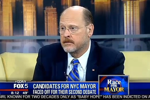 Joe Lhota: 'I Need a Grand Slam'