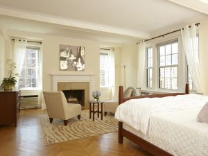 """A portion of the """"sumptuous"""" master suite"""