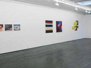 Paintings by Hahn, Guertin, Hahn and Guertin. (Courtesy Jack Hanley Gallery)