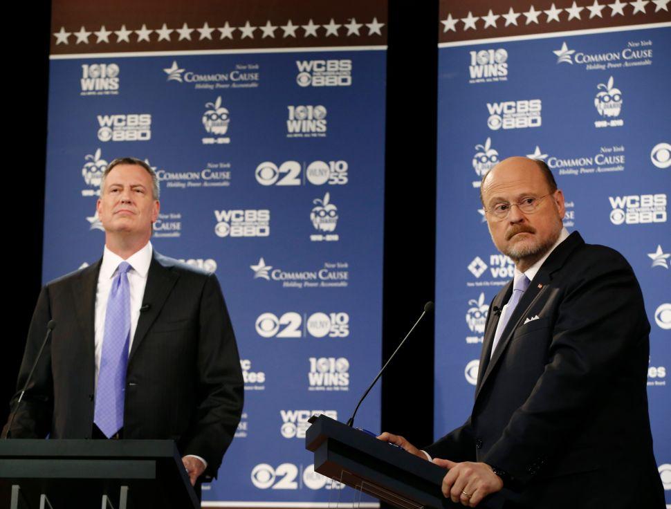 Final Mayoral Debate Postponed to Honor Sandy Anniversary