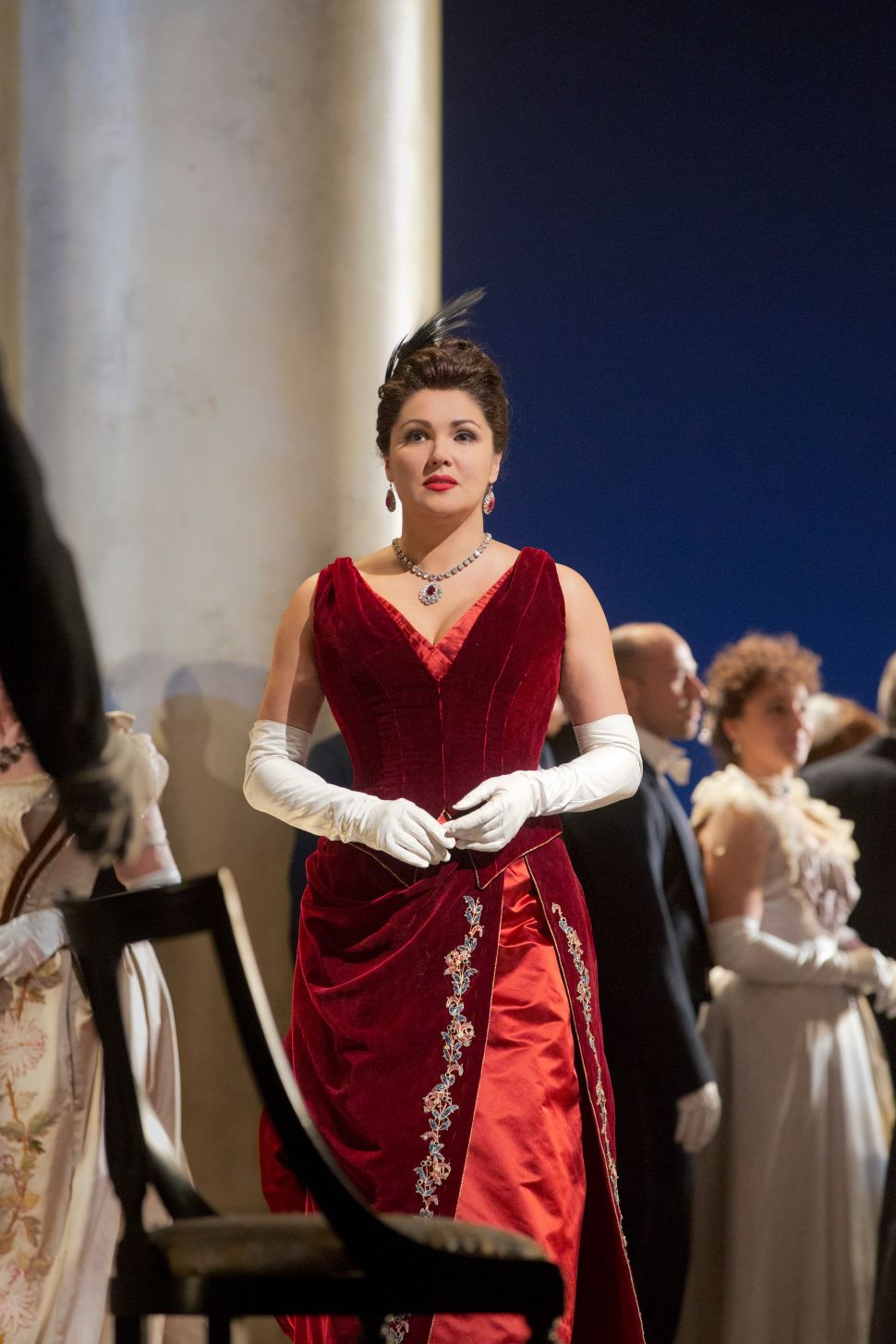 Anna, Norma and a Giant Nose: Protesters Stole the Opening Night of <em>Onegin</em>