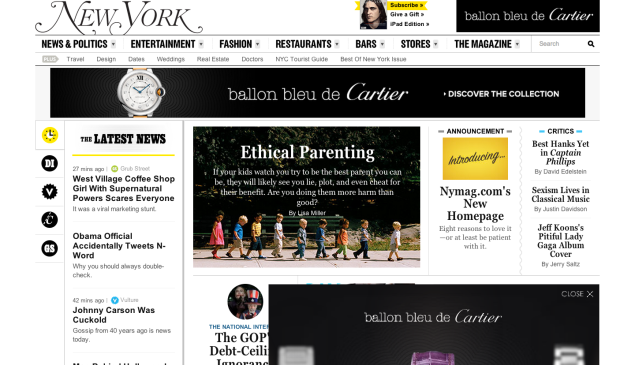 Check out nymag.com's new look!