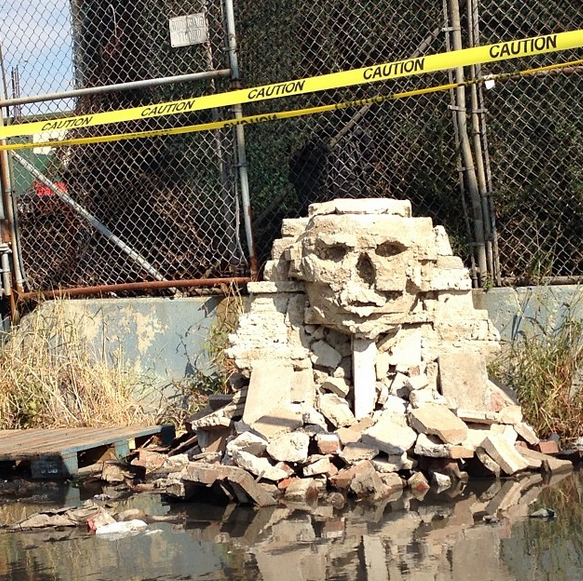 Banksy's Latest Sphinx Sculpture Sparks Total Anarchy in Queens