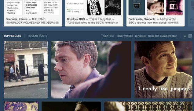 Get ready to FREEBASE some Sherlock fan art.