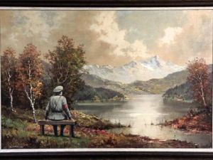 The painting at auction.