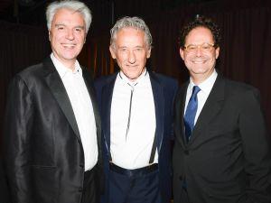 David Byrne, Ed Ruscha, Adam Weinberg. (Courtesy BFA)