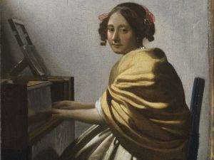 'Young Woman Seated at a Virginal,' 1670-72. (©The Leiden Collection, New York)