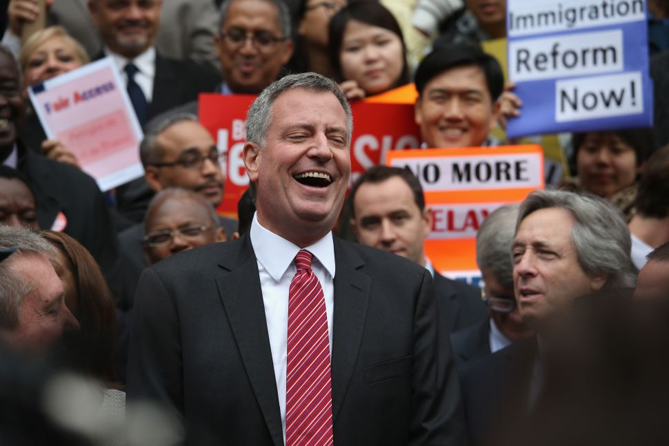 De Blasio Ticket Giveaway for Inauguration Sells Out [Update]