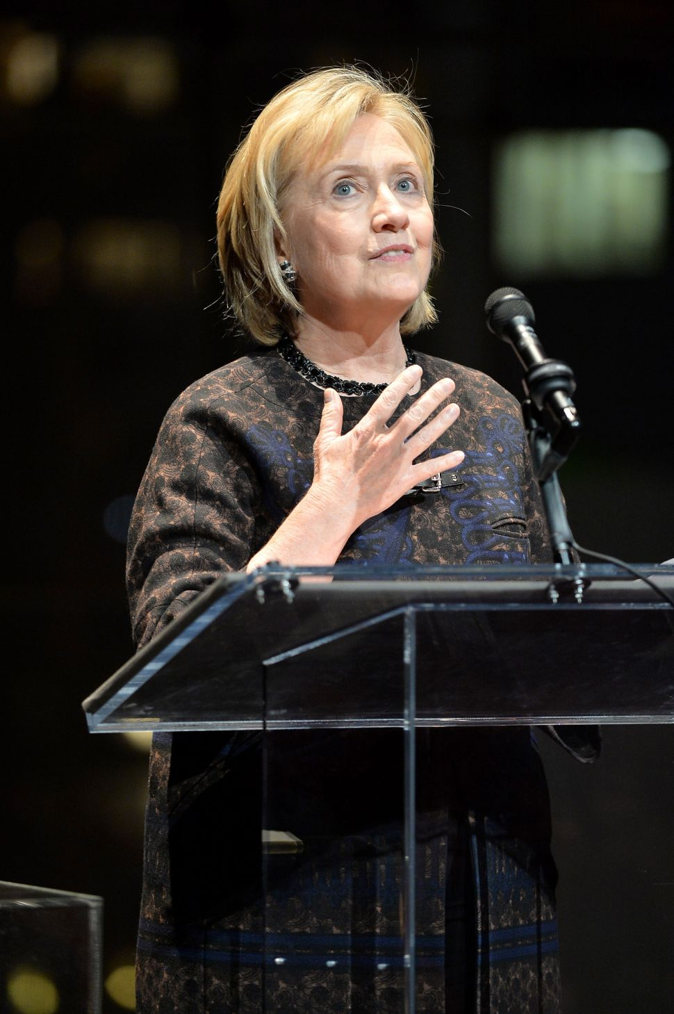 Come Hill or High Water: Former Secretary of State Clinton Takes Over NYC's Social Scene
