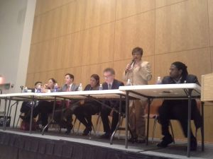 The Council Speaker candidates in Staten Island.