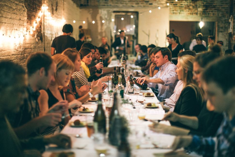 Dining Clubs Are the New Dinner Parties