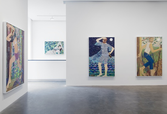 'Benjamin Degen: Shadow, Ripple and Reflection' at Susan Inglett Gallery