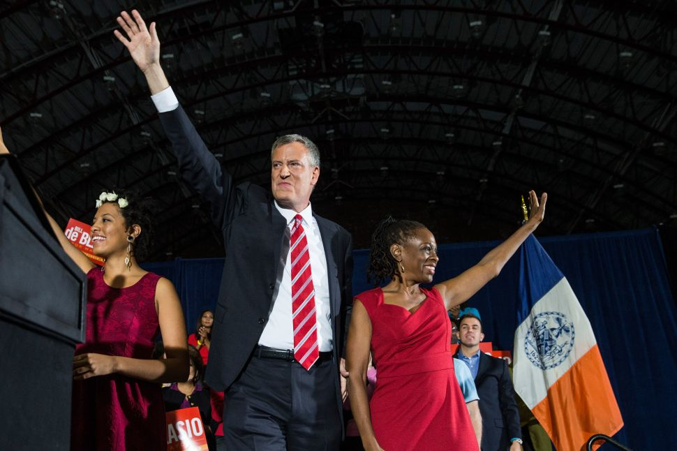 Bill de Blasio to Be Sworn in at Midnight Ceremony at His Park Slope Home