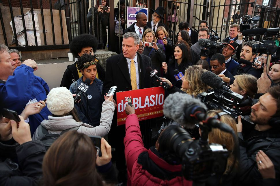 'It's Been a Very, Very Long Journey': A Jubilant de Blasio Casts His Vote