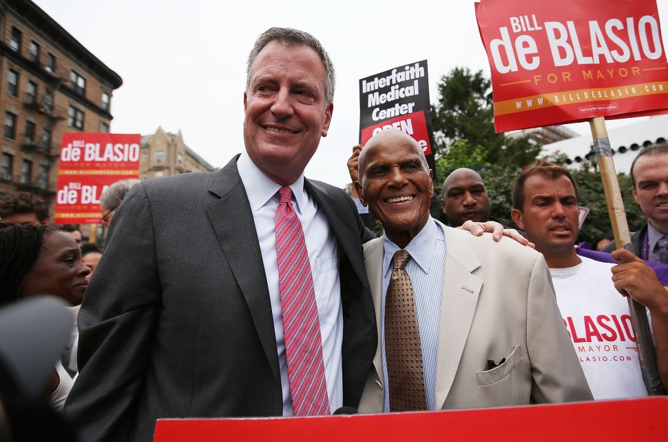 De Blasio to Return Transition Contribution