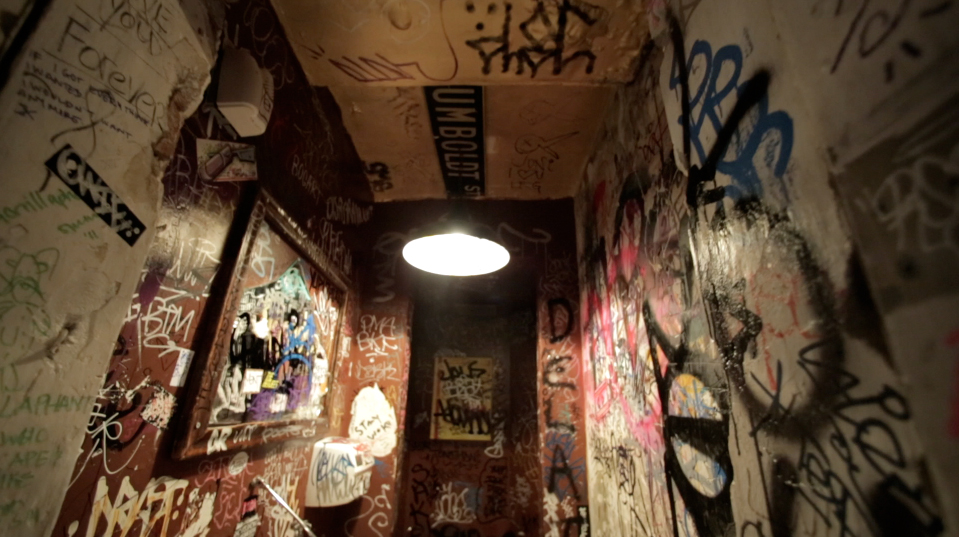 You Can Finally Explore Brooklyn's Grossest Bathrooms Set to Sexy Slow Jams