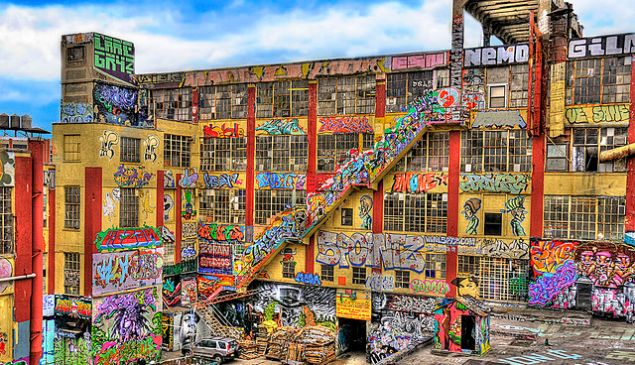 5Pointz, in all its colorful glory ().