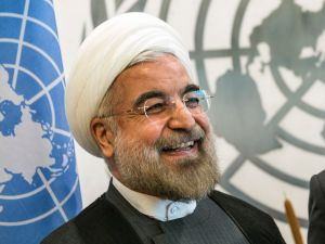 Iranian President Hassan Rouhani may not be smiling on election day.