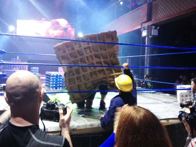 Monster Mash: Creatively Costumed Wrestlers Bring Kaiju Big Battel to New York