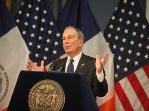 Mayor Michael Bloomberg. (Photo: Getty)