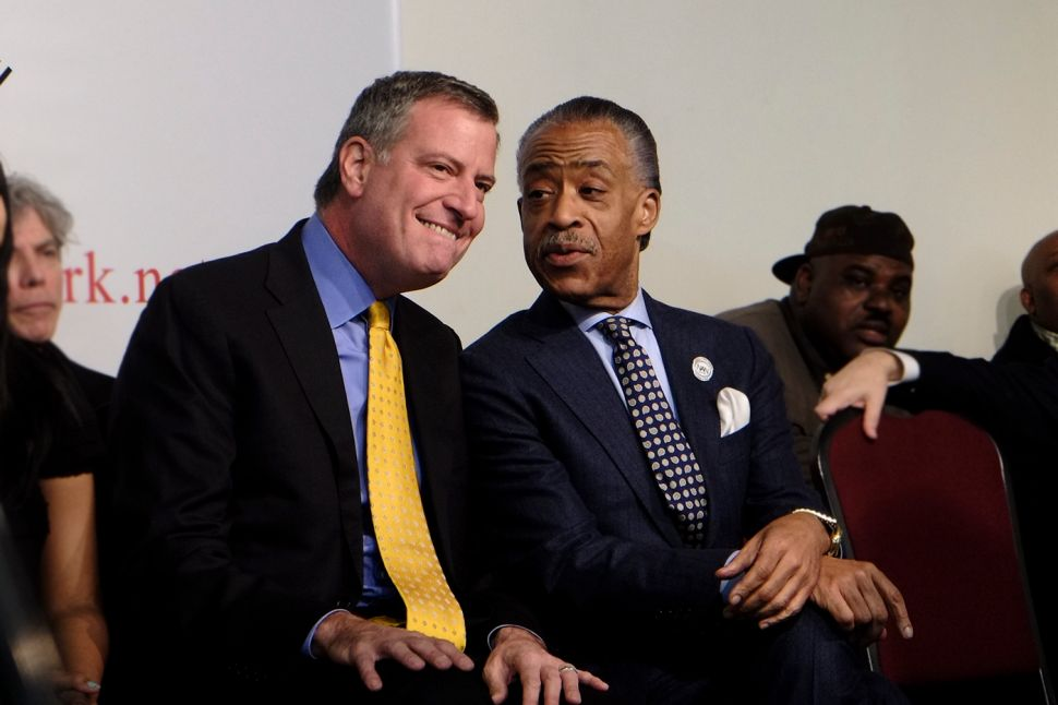 On MLK Day, NYC Mayor and Al Sharpton Vow to 'Gird Ourselves for Battle' Against Trump