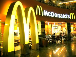 When in the midst of divorce proceedings, give your little munchkins all the MIckey D's they want.