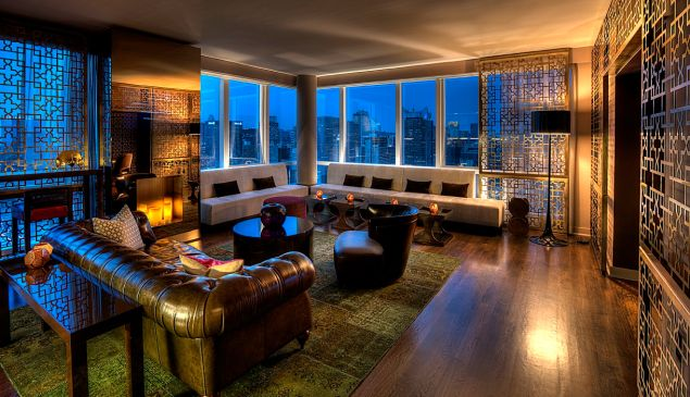 One MiMA Tower recently added a high-end lounge for renters.
