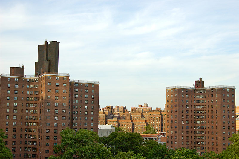 Could Building on NYCHA Land Save de Blasio's Affordable Housing Plan?