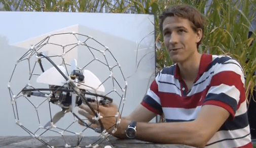 The Future Will Consist of Tiny Flying Robots Bumping Into Your Face