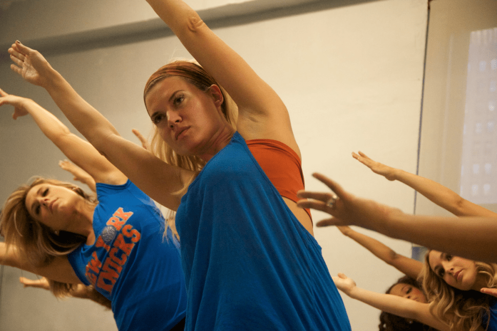Black (and Blue) Swan: Going a Few Dance Rounds With the Knicks City Dancers