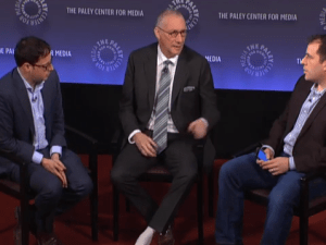 Nate Silver, John Skipper and Peter Kafka