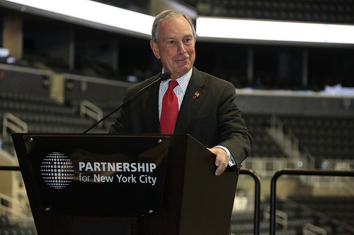 Michael Bloomberg Burnishes His Legacy at the Barclays Center
