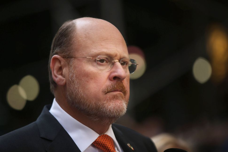 Joe Lhota Calls Bill de Blasio a 'Hypocrite' for Support of Sheldon Silver