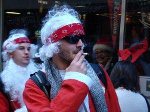 Badass Santa. (Flickr, IstoletheTV)