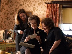 Meryl Streep, center, as Violet, the domineering Weston family matriarch.