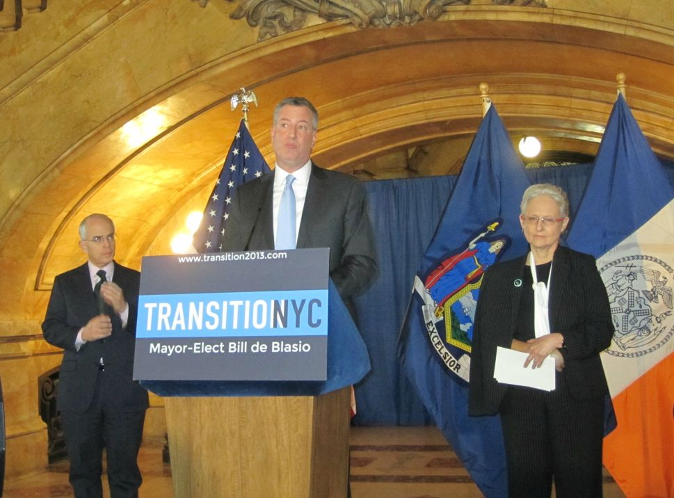 De Blasio Invokes Dasani in Vow to Change City's Approach to Its Homeless