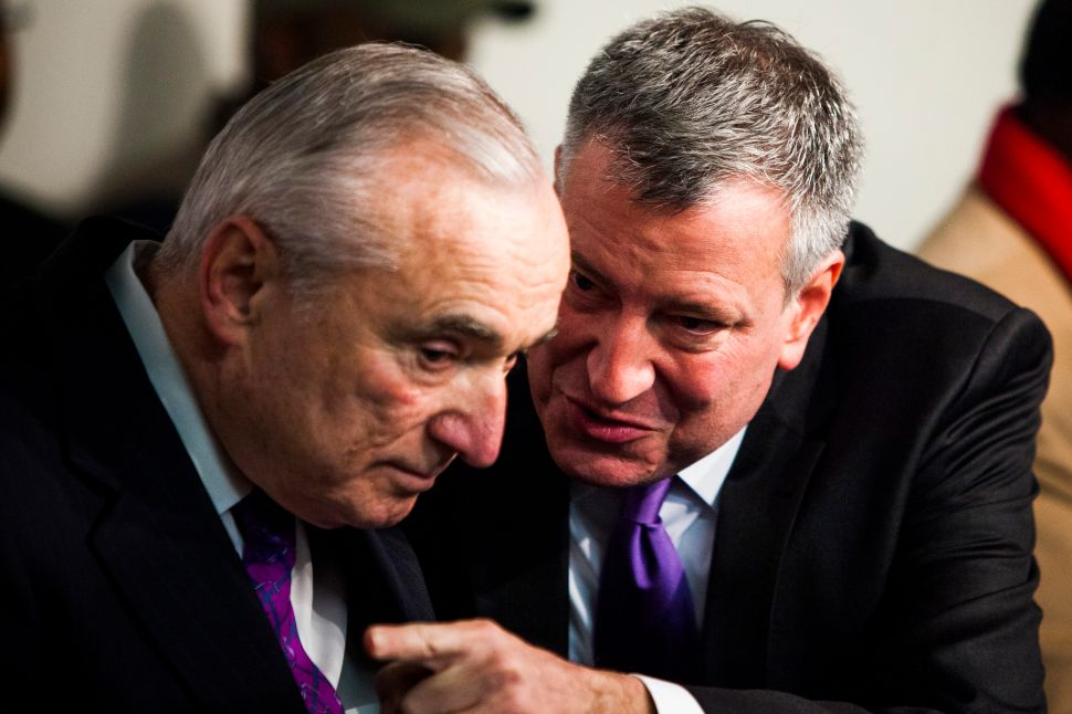 Bratton Has 'No Problem' With Mayor's Call About Arrested Bishop