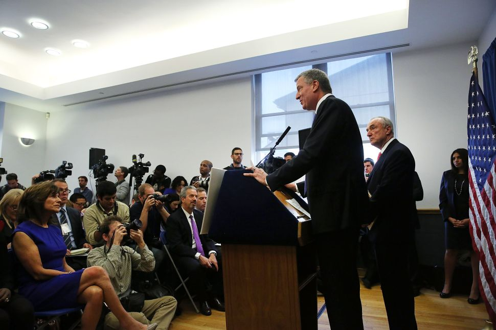 Bill de Blasio Gaining Reputation for Tardiness at Official Events