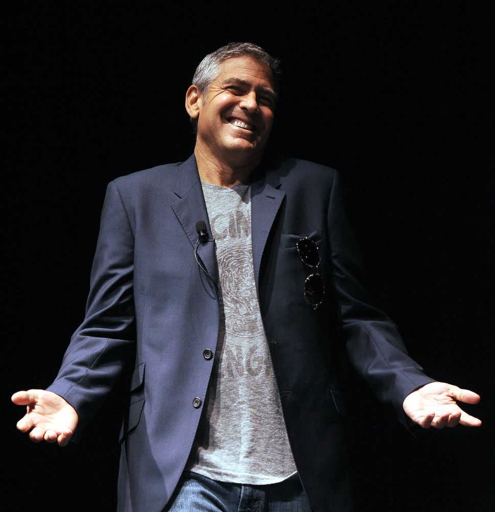 Morning Media Mix: George Clooney Takes on The Daily Mail