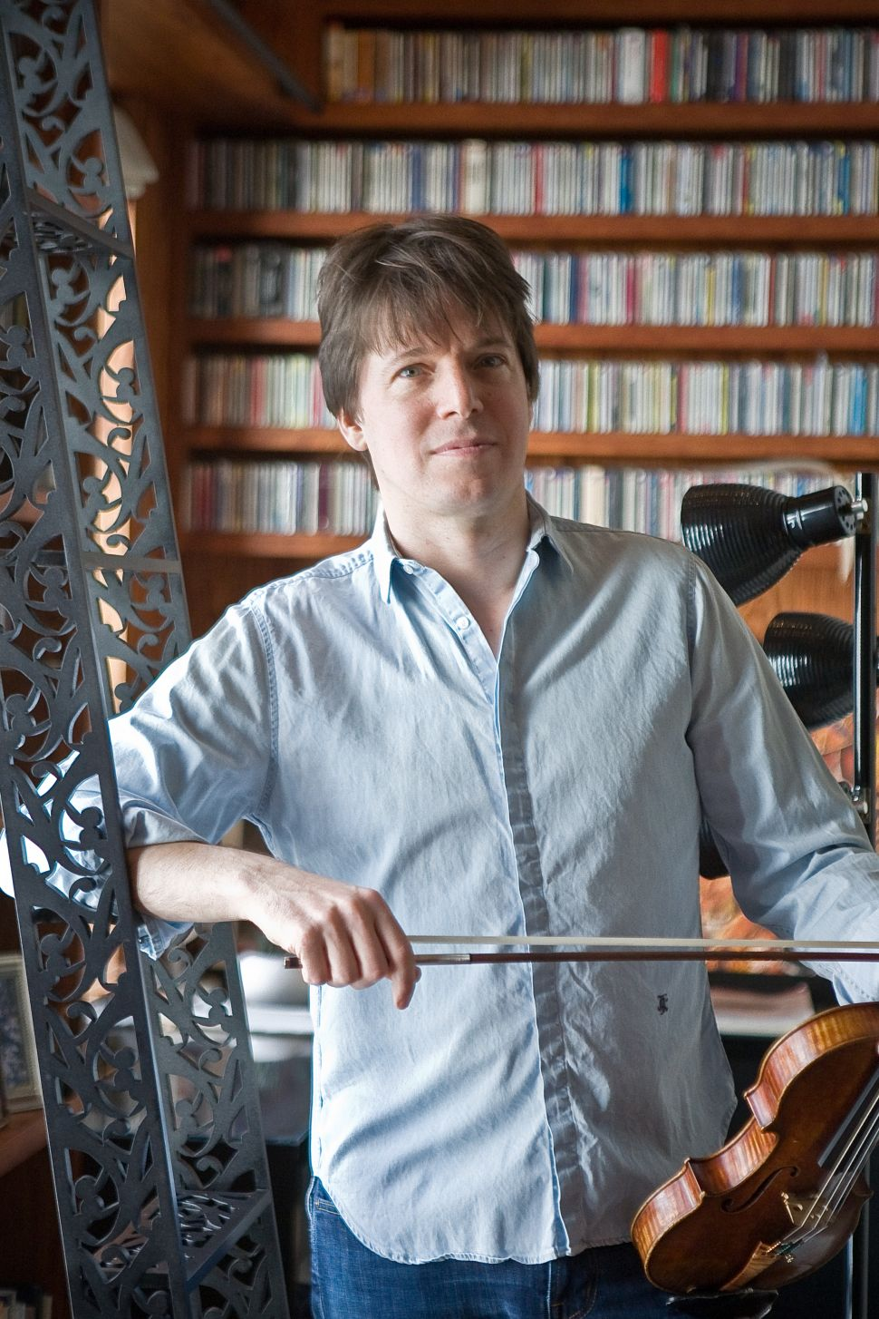 At Home With Joshua Bell