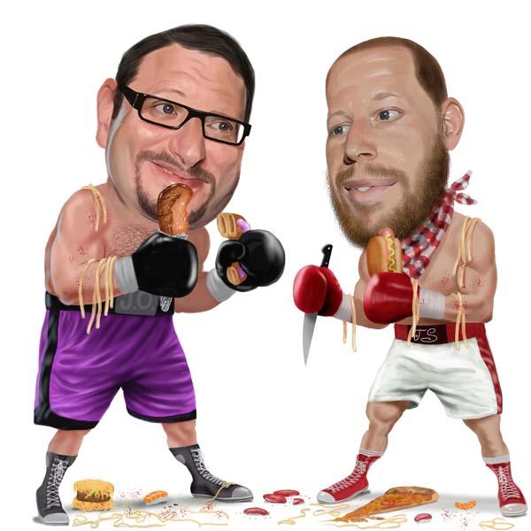 Grub Match: Josh Ozersky and Joshua David Stein Slug it Out